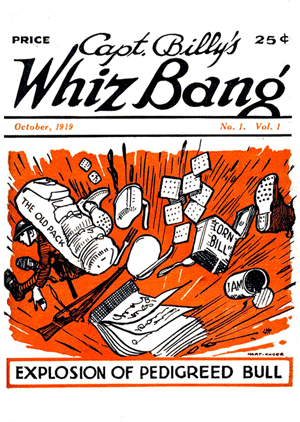 Captain Billy's Whiz Bang #1