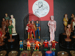 The Marvel Family lead soldier figures