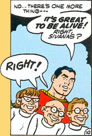 Captain Marvel and the Sivanas come out of suspended animation!