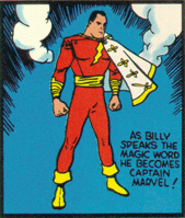 The first appearance of the original Captain Marvel!