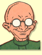 Dr. Sivana in WHIZ COMICS #3