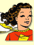 Mary Marvel by Marc Swayze