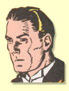 Alan Armstrong (Spy Smasher's alter ego) in WHIZ COMICS #2