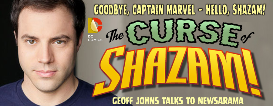 GEOFF JOHNS REVEALS CURSE OF SHAZAM! DETAILS border=