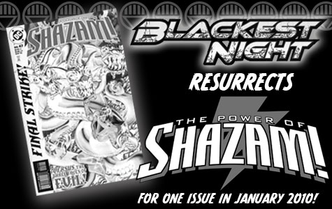 Blackest Night Resurrects The Power of Shazam! For One Issue in January 2010! border=