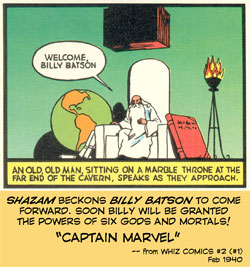 Shazam welcomes Billy Batson!