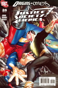 JUSTICE SOCIETY OF AMERICA #24 (Apr 2009) - Cover