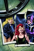 BIRDS OF PREY ##99 Cover