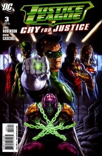Justice League: Cry for Justice #3