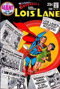 Superman's Girl Friend, Lois Lane #104